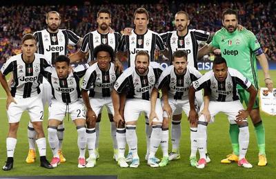 Juventus campione d'Italia 2016/2017