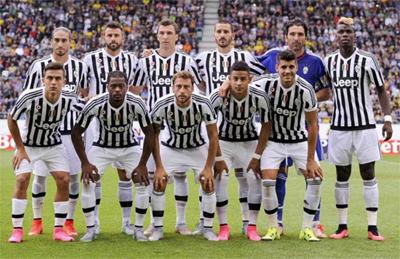 Juventus campione d'Italia 2015/2016